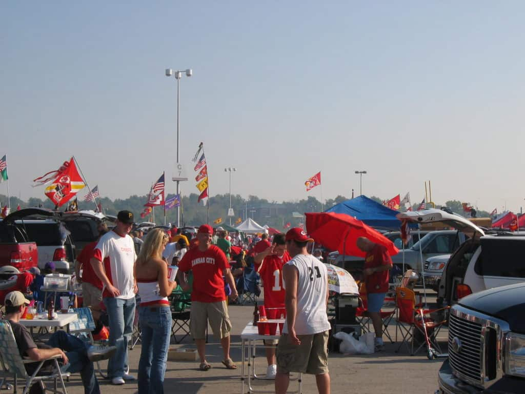 Tailgating at Arrowhead